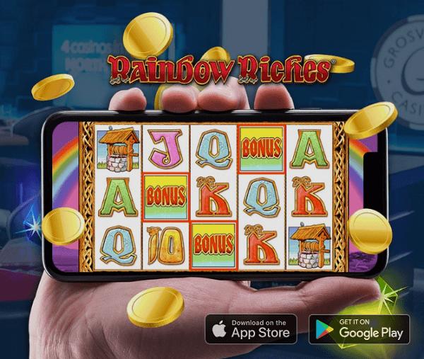 Rainbow riches mobile app